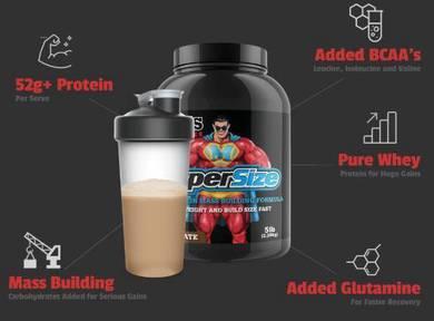 Max's Pro Series Super Size Maxs Protein Mass Gain