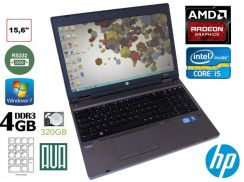 Hp Probook 6560b i5 2520 4GB AMD GC 15.6