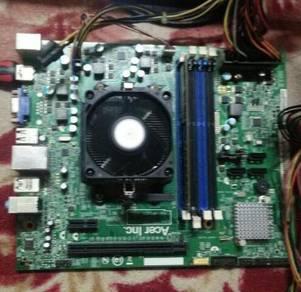 AMD E2-3200   fm-1 mobo