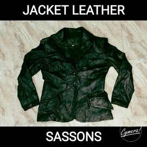 Jacket Leather Sassons