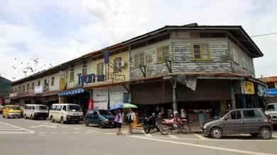Tamparuli Town Kedai Tingkat Bawah Ground Floor