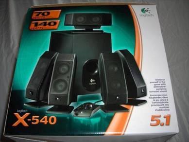 Logitech X-540 Surround 5.1 Speaker