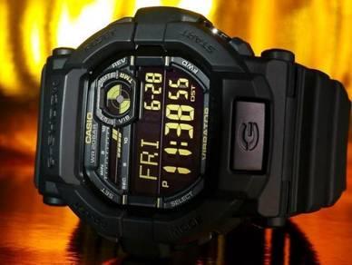Watch- Casio G SHOCK VIBRATE GD350-1B -ORIGINAL
