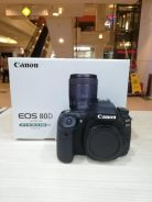 Canon eos 80d body (sc 6k only) 99.9% new