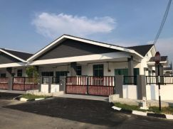 Manjung Perak, Sitiawan, New 1 Storey House , READY TO MOVE IN