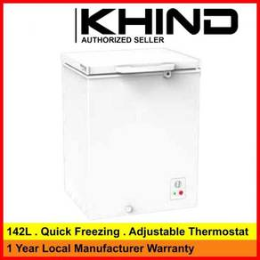Khind FZ142 Chest Freezer 142LITER ~New design