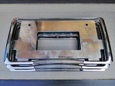 Mitsubishi motors frame plate