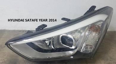 Hyundai satafe year 2014 headlamp lamp