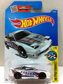 Hotwheels Nissan 180SX Type X '96 #1 Greddy White
