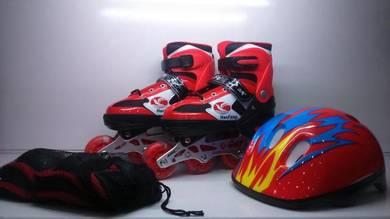 Rollerblade Adjustable 1SET Red()*: