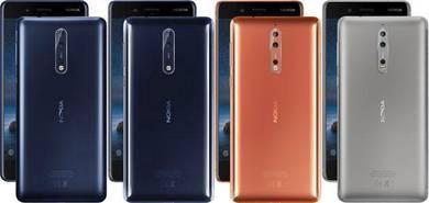 NOKIA 8 (Snapdragon 835)Original Nokia Malaysia