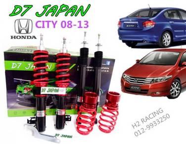 CITY JAZZ 08 up D7 Adjustable HI Low + Body Shift