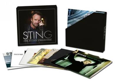 Sting The Studio Collection 180g 11LP Box Set