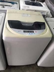 Recond 7kg Auto LG Mesin Basuh Washing Machine Top