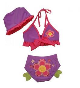 (SS16-S) New Korean Style Bikini Swimsuit For Kids