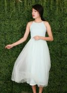 Mia tulle mesh dress (tiffany blue)