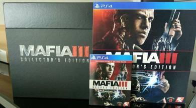 Mafia iii collector ps4