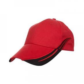 Topi Cap CP1205 color Red/Black Belian Borong