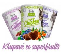 BritCare Cat Snacks SHAKE-SHAKE Superfruits 100g