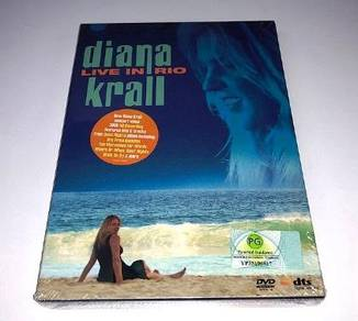 IMPORTED DVD Diana Krall Live In Rio