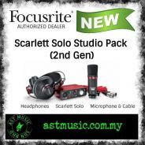 Focusrite Scarlett Solo Studio Pack Interface