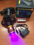 Fishing Memancing UV 2in1 Rechargeable Headlamp O