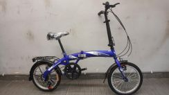 Basikal Oscar Bicycle folding vogue 16er 6sp Blue