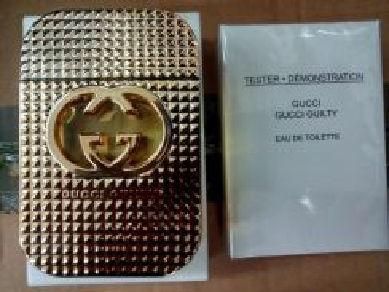 Perfumes tester ori gucci guility 80ml
