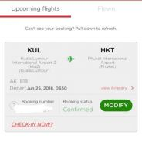 AirAsia to Phuket (2person)