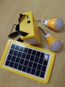 LED Solar Light Set can lasting 30hour for 1 bulb