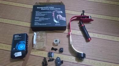 Mini action cam sq12 dan stabilizer