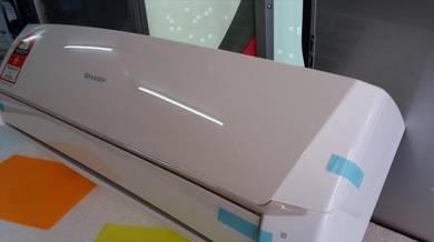 0% GST * NEW SHARP 1hp Air Conditioner 9,000 BTU