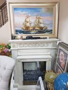 Classic English Fireplace