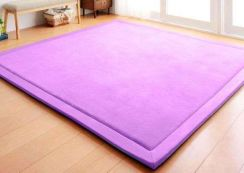 Assorted Trendy, Stylish Purple Color Tatami Mats