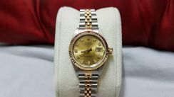 Rolex Ladies Datejust 69173 Diamond Markers
