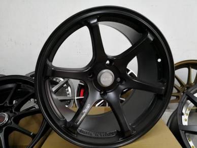 4pcs ADVAN RACING RG Design 17x9 Sport Rim New