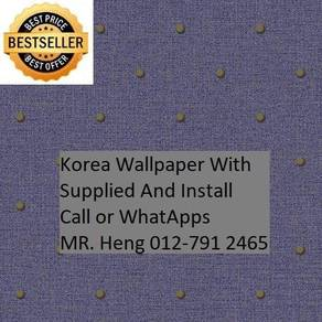 3D Korea Wall Paper with Installation 6tc