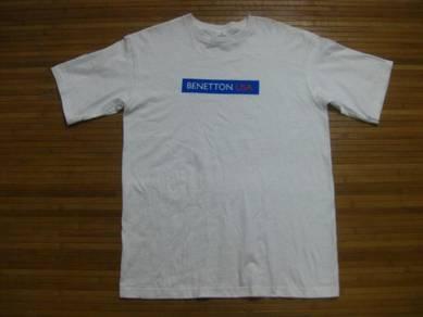 Benetton USA Tee size L