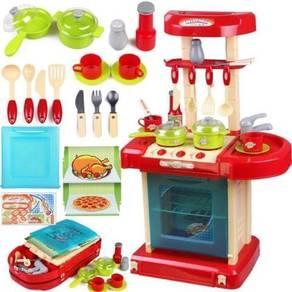 Big Playset Kitchen Cooking Kids