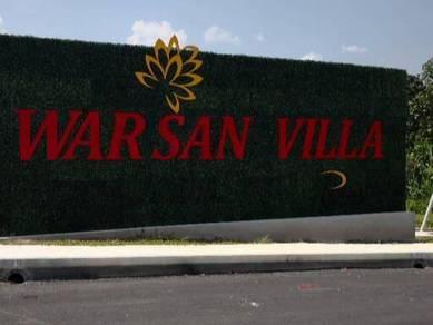 Warisan villa, desa cempaka, nilai ,corner lot