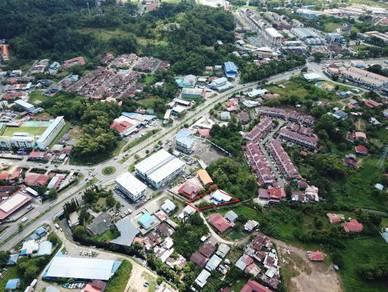 Kg Lungab Land For Sale (Behind HS Commercial Centre)