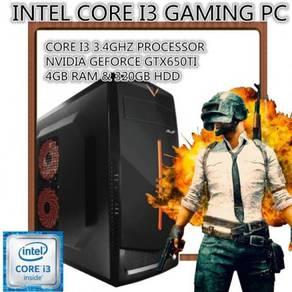 Gaming pc intel core i3 3.4ghz gtx650ti 4gb ram