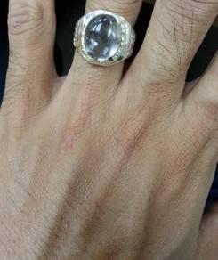 Cincin Perak Asli Batu Bukit Berkarang Di Dalam