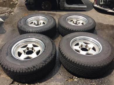 Rim RAGUNA ZZYZX 4x4 139.7x6 With Tyre And Cap