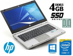 Hp elitebook 8470 Core i7 3rd G 4GB SSD Gaming PC