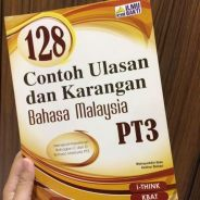 Buku rujukan karangan bm