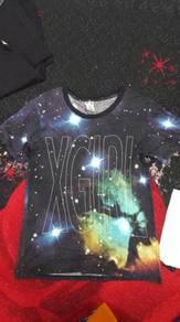 Tshirt brand x girl jpn size M full print
