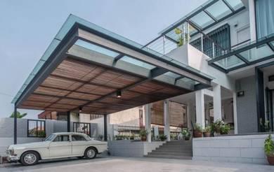 Dengkil KLIA Bank Lellong Big Car Porch 26x86 Semi D 2 storey Bumi Lot