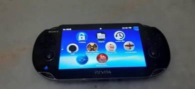 Black Ps Vita Console Siap Henkaku