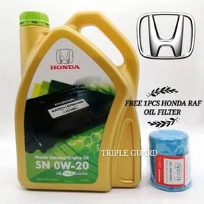 Honda genuine engine oil SN 0W-20 4L